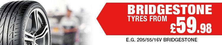 Bridgestone Tyres at ETB