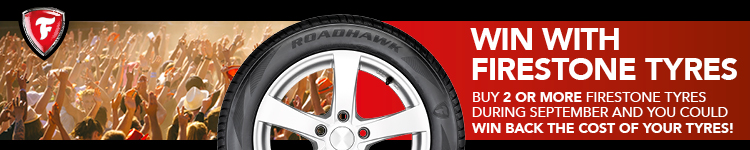 Firestone tyre promotion sale