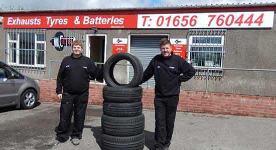 Car Tyres Bridgend